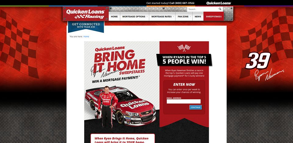 #300-Bring it Home Sweepstakes I Quicken Loans Racing-racing_quickenloans_com_bring-it-home__qls=BIH_qlracing_n