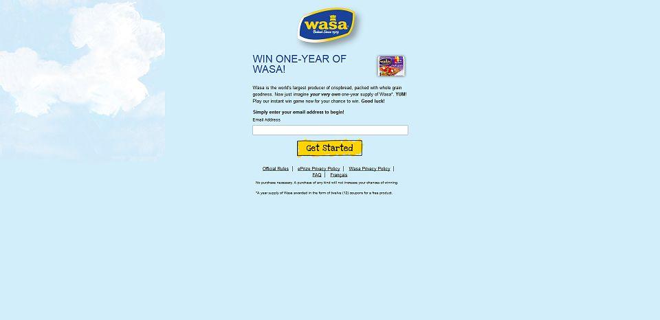 #374-MATCH YOUR WASA-wasa_promo_eprize_com_matchyourwasa