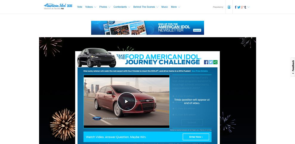 #5299-American Idol - American Idol-www_americanidol_com_fordsweepstakes