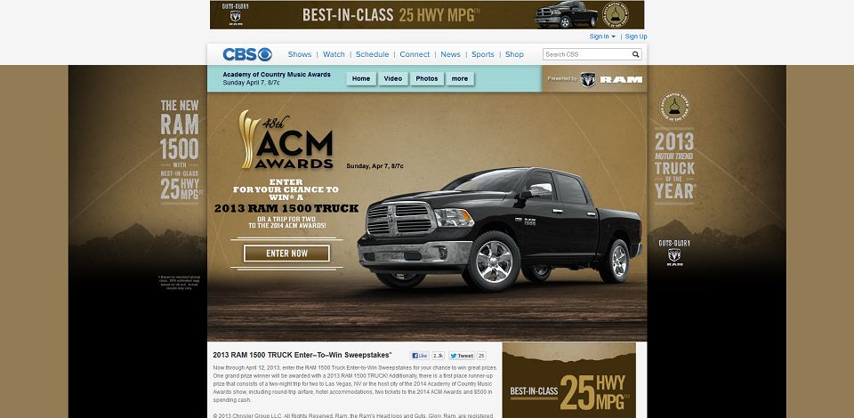 #595-Academy of Country Music Awards - Ram Truck Sweepstakes - CBS_com-www_cbs_com_shows_academy_of_country_mus