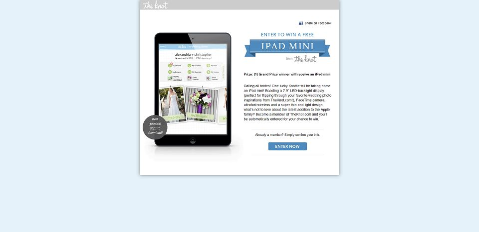 #606-Apple iPad Mini Sweepstakes – The Knot-content_theknot_com_sweepstakes_apple-ipad-mini__reloaded=1
