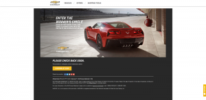 RaceToWinCorvette.com: Race To Win Corvette Sweepstakes