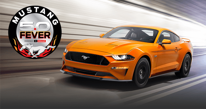 Motorcraft Mustang 5.0 Fever Sweepstakes 2017 (Mustang50Fever.com)