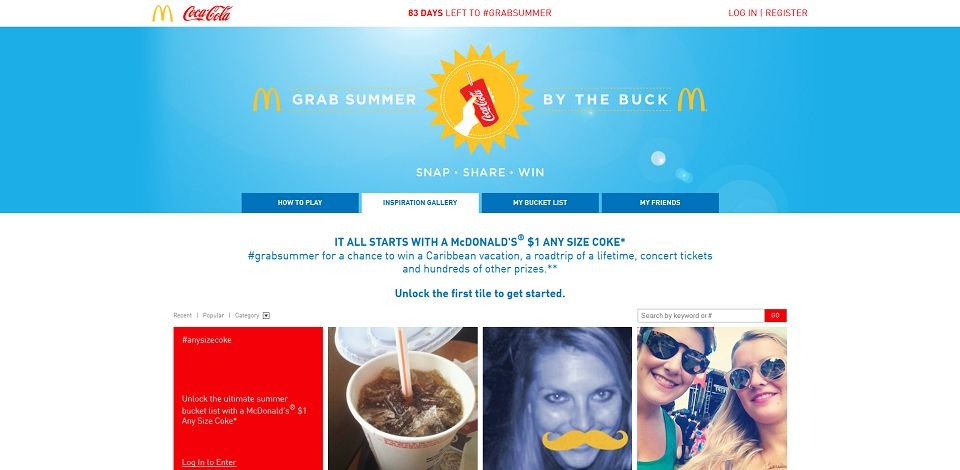 #1643-GRAB SUMMER BY THE BUCK-cocacola_promo_eprize_com_gsbb_#