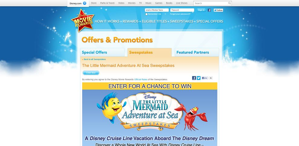 #1881-The Little Mermaid Adventure At Sea Sweepstakes - Disney Movie Rewards-www_disneymovierewards_go_com_promotions_sweepstakes_mermaidsweeps
