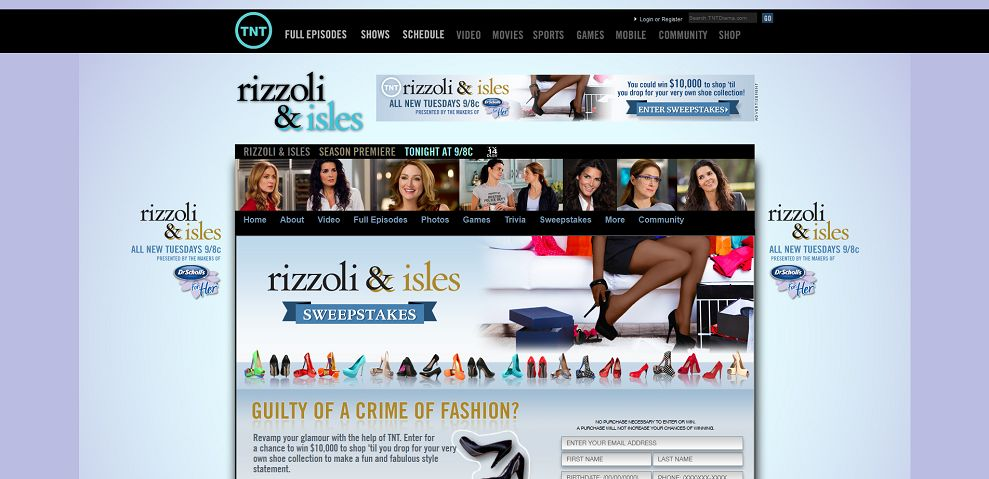 #1963-Rizzoli & Isles - Dr_ Scholl's Shoe Makeover Sweepstakes-www_tntdrama_com_series_rizzoli-and-isles_shoe-makeover-sweepstakes