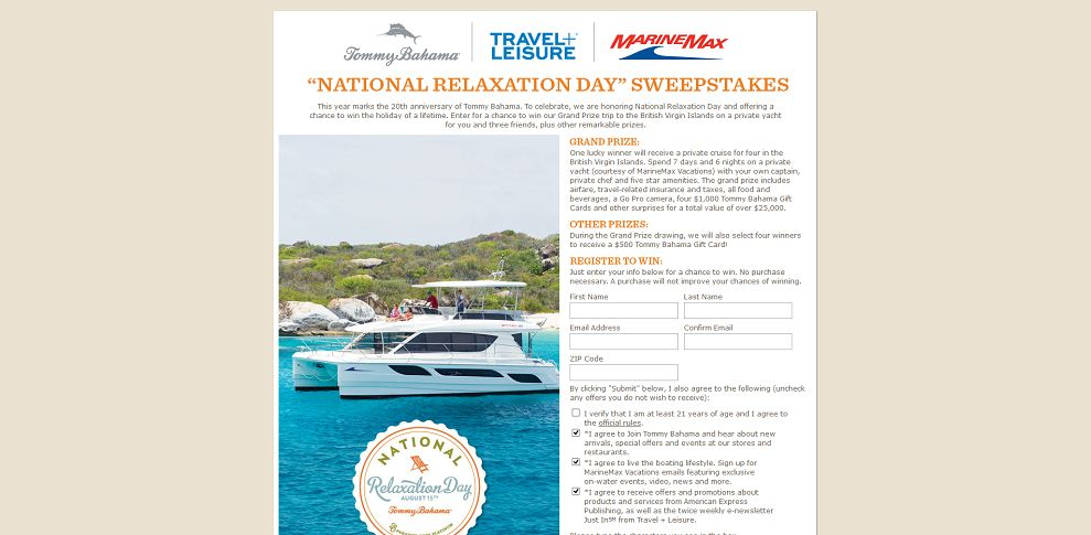#2156-_National Relaxation Day_ Sweepstakes-tommybahama_promo_eprize_com_relax