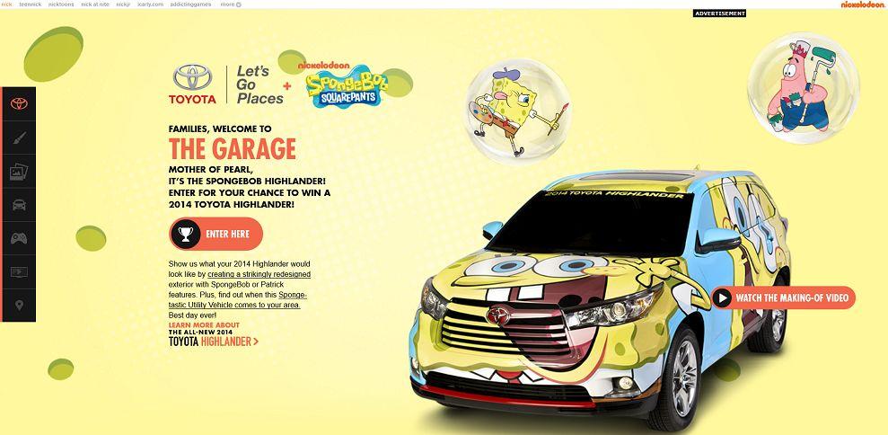 #2158-SpongeBob Toyota Highlander-ads_nick_com_sponsors_2013_toyota_highlander