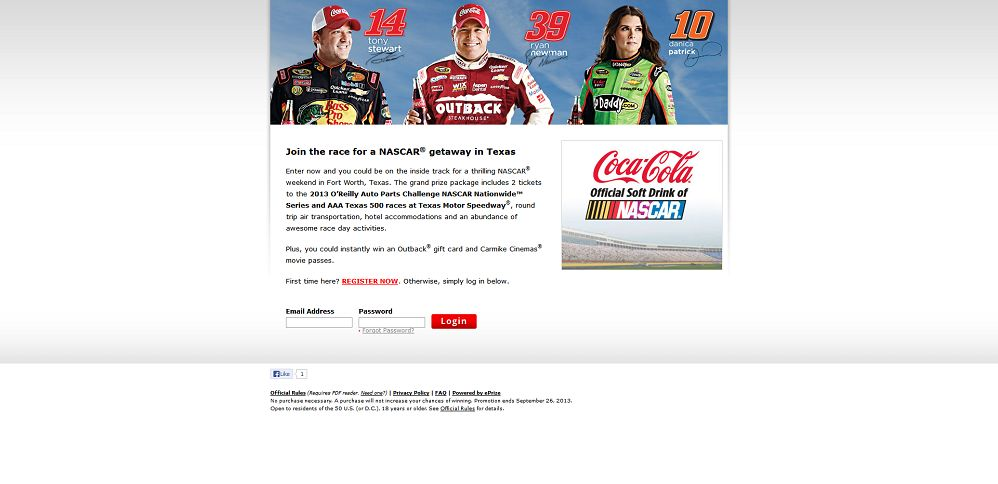 #2286-2013 Coca-Cola® Race to Texas Sweepstakes-cocacola_promo_eprize_com_racetotexas__b=chrome