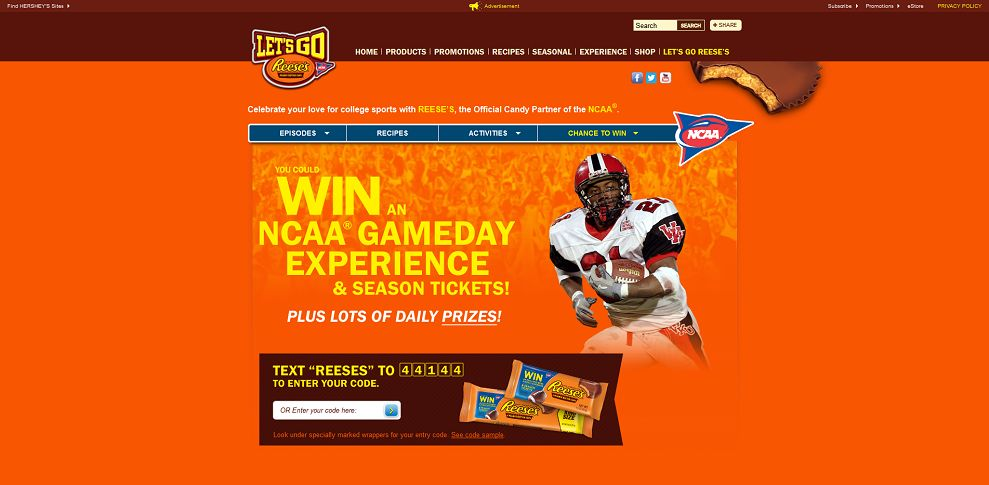 #2377-Let's Go REESE'S I Home Page-www_hersheys_com_reeses_lets-go_promotions