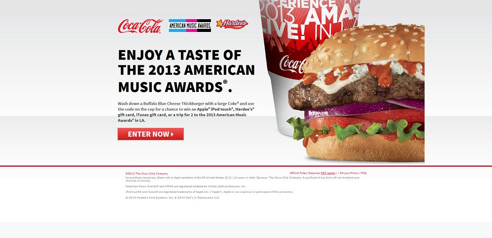 #2484-Hardee's® & Carl's Jr_® Sweepstakes & Instant Win-cocacola_promo_eprize_com_musicsweeps__affiliate_id=hardeesvanity