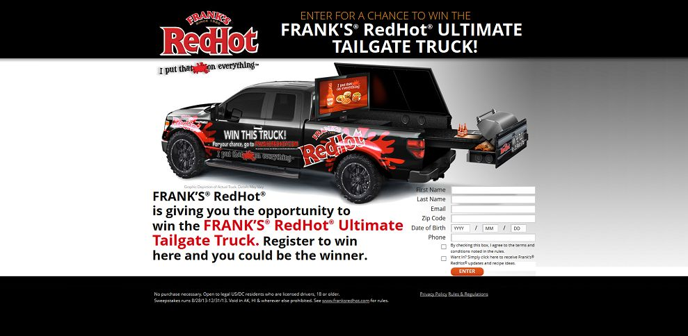 #2672-Frank's Red Hot I I put that $#!+ on everything-franksredhotsweepstakes_com