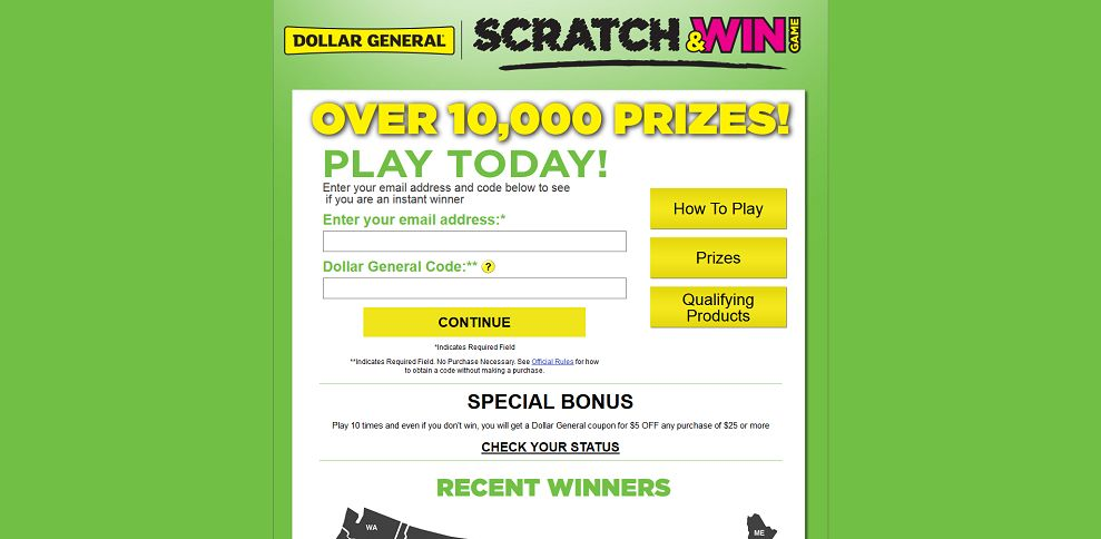#2993-Dollar General - Welcome-www_dgscratchandwin_com