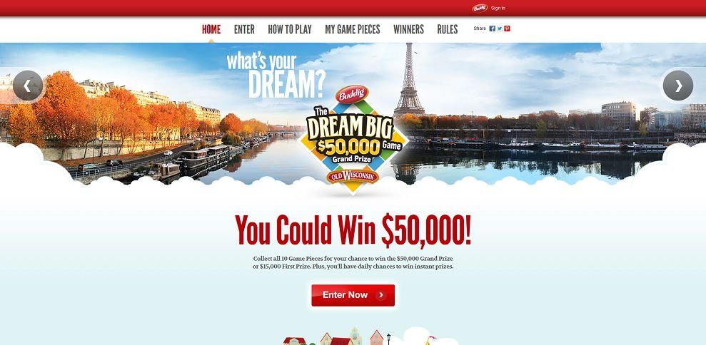 #2994-Dream Big 2013 Promotion I Buddig & Old Wisconsin-buddigpromos_com_Dream-Big-2013