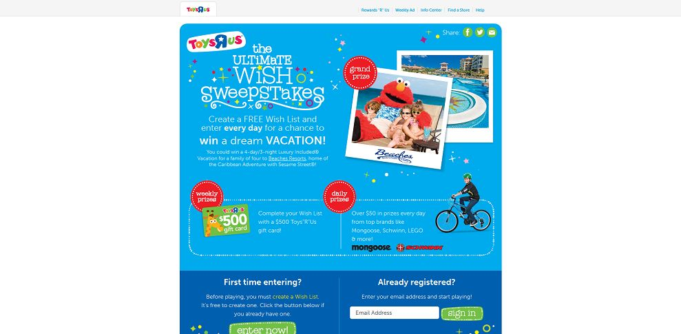 #3364-Toys R Us I Ultimate Wish Sweepstakes-go_rtm_com_TheUltimateWish_#_gdZiiKgctieihY