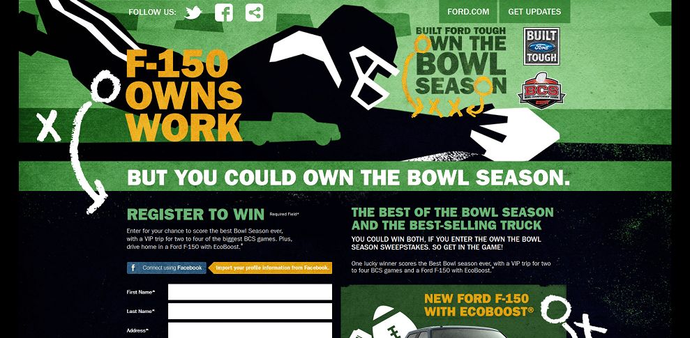 #3479-Enter to Win I Ford F-150 BCS Ultimate Combo Sweepstakes I Ford_com-fordvehicles_emipowered_net_bcs
