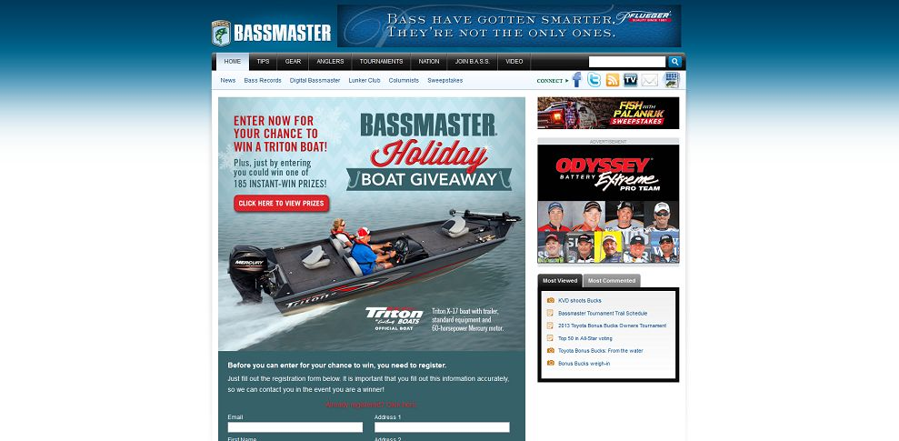 #3654-B_A_S_S_ Holiday Boat Giveaway Sweepstakes-promotion_bassmaster_com_holidayboatgiveaway