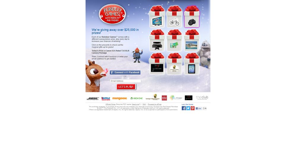 #3766-Reindeer Games™ featuring Rudolph and Friends-ggp_promo_eprize_com_holiday