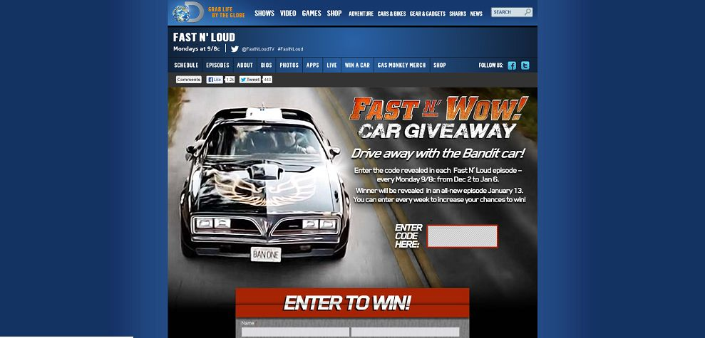 #3798-Fast N' Wow Giveaway _ Discovery Channel-dsc_discovery_com_tv-shows_fast-n-loud_fast-n-wow-giveaway_htm