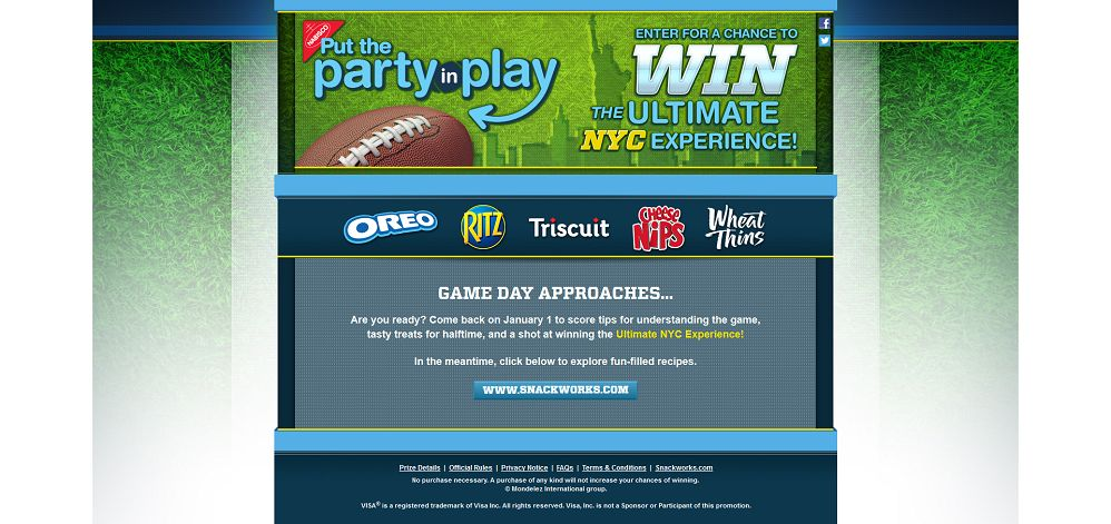 #3978-Put the Party in Play Sweepstakes and Instant Win Game-mondelez_promo_eprize_com_partyinplay