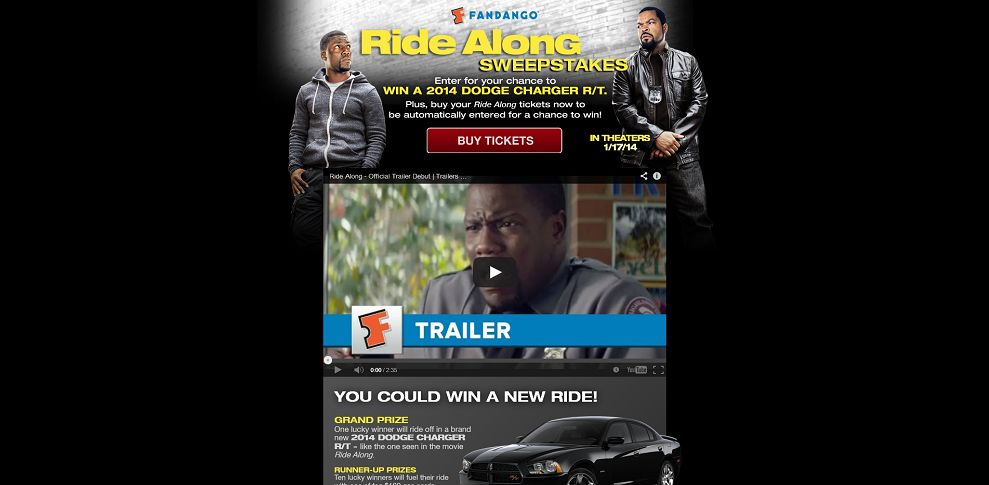 #3979-Fandango's Ride Along Sweepstakes-www_fandangoridealongsweeps_com