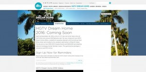 HGTV.com/HGTVDreamHome - HGTV Dream Home 2016 Giveaway
