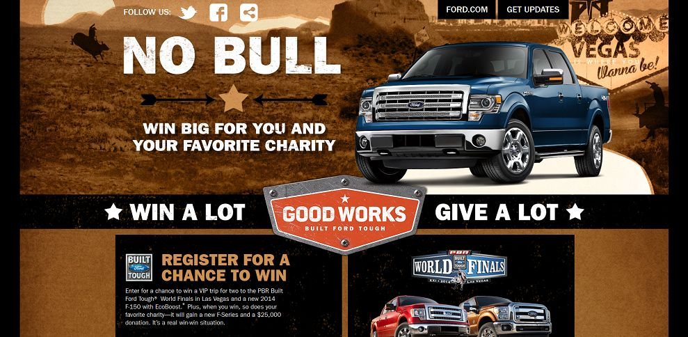 Ford charity work for Ford motor company charitable giving