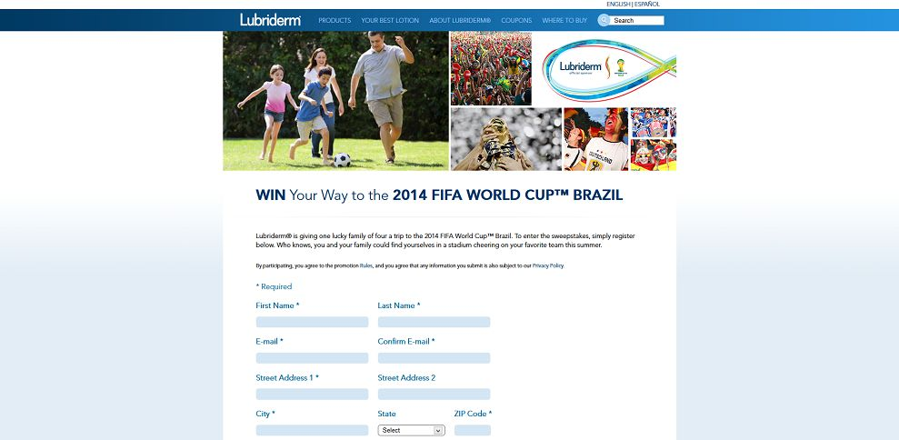 #4252-FIFA Sweepstakes I Lubriderm® Moisturizers for Healthier Skin-www_lubriderm_com_FIFA