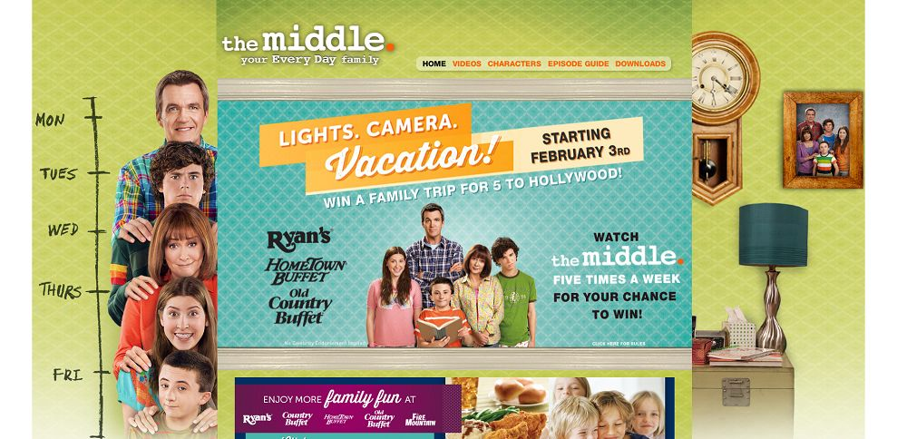 #4281-The Middle Weeknights - Gotta Getaway Sweepstakes Oct 21st - Nov 1st-www_themiddleweekdays_com