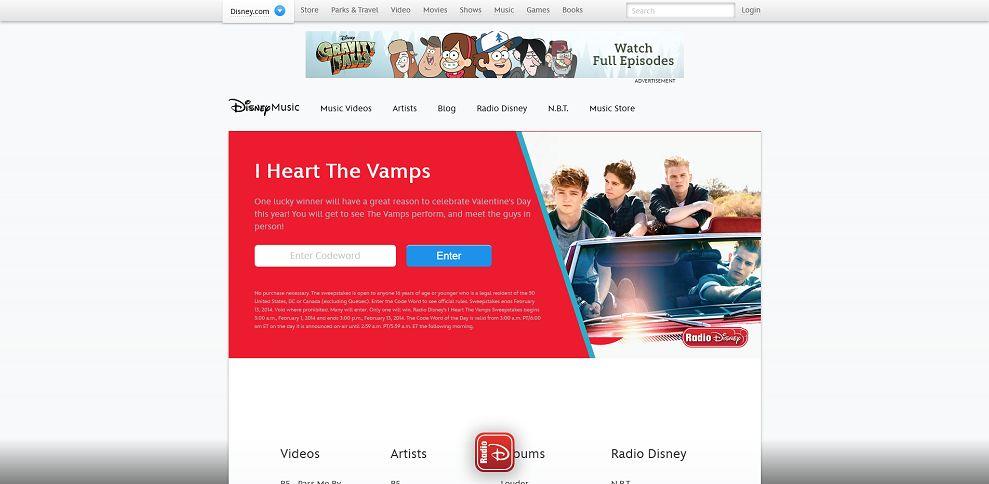 #4601-Radio Disney Sweepstakes I Disne