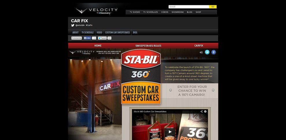 #4638-Custom Car Sweepstakes _ Velocity-www_velocity_com_tv-shows_car-fix_custom-car-sweeps_htm