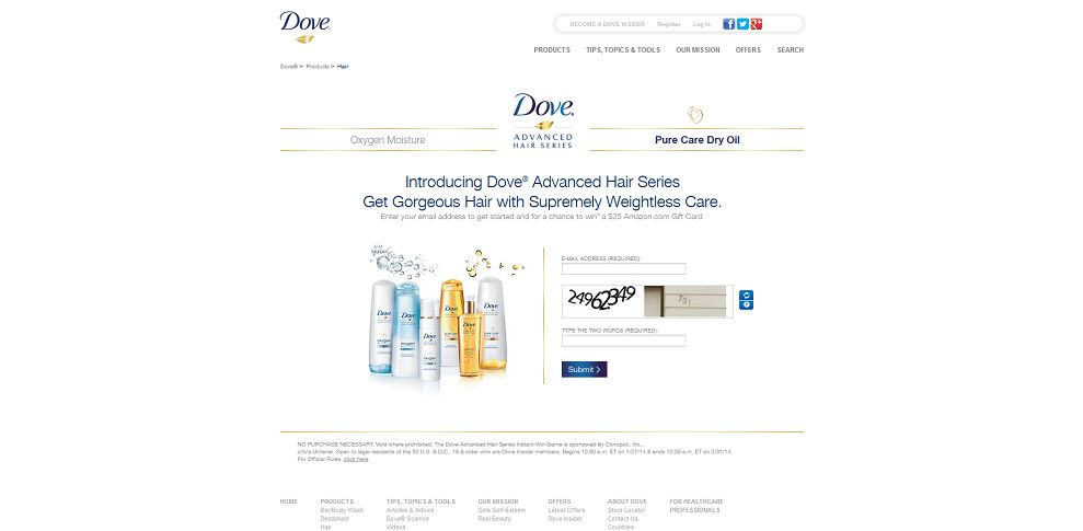 #4764-Dove® Hair & You