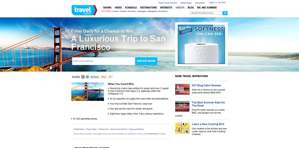 #7066-A Luxurious Trip to San Francisco-www_travelchannel_com_sweepstakes_san-francisco-2014