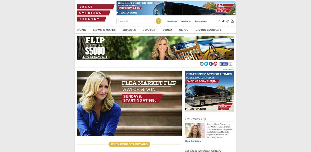 #4857-Flea Market Flip Watch & Win Sweepstakes _ Great American Country-www_ga