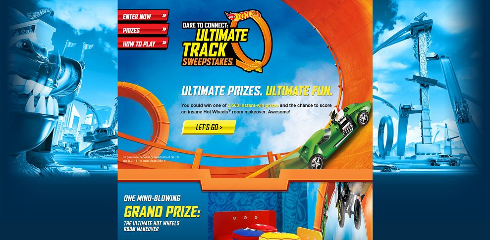 #4947-Hot Wheels™ Dare to Connect_ Ultimate Track Sweepstakes™-wintrack_hotwheels_com