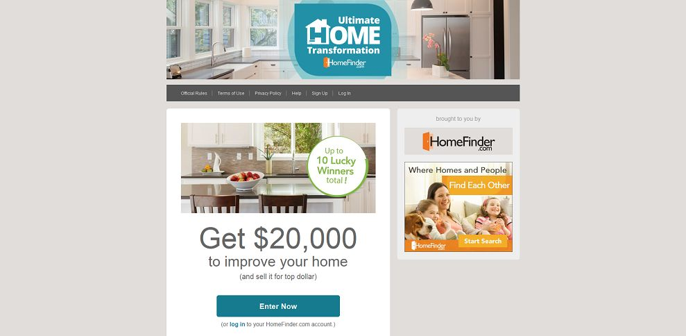 #5005-Ultimate Home Transformation Sweepstakes - HomeFinder_com-sweepstakes_homefinder_com