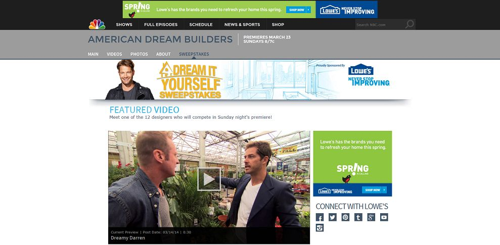 #5138-Watch Exclusive Video I American Dream Builders I NBC-www_nbc_com_american-dream-builders_lowes
