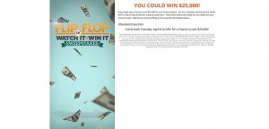 HGTV Flip or Flop Watch It Win It Sweepstakes