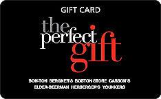 Bon-Ton Gift Card
