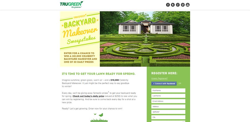 #5268-Backyard Makeover Sweepstakes-trugreen_promo_eprize_com_spring