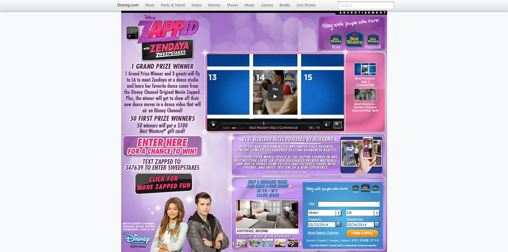 DisneyChannel.com/GetZappedZweeps � Disney Get Zapped! With ...