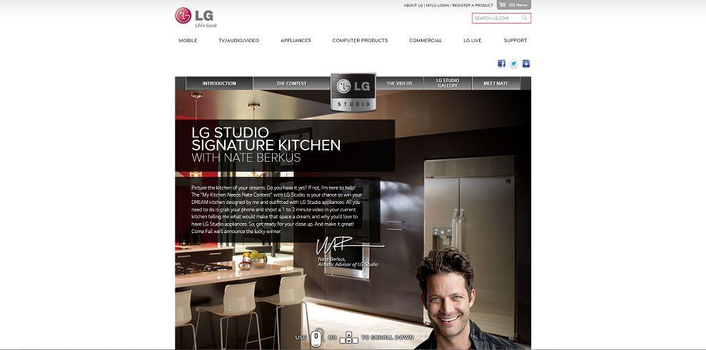 Lg studio my kitchen needs nate contest win a kitchen for Win a kitchen renovation