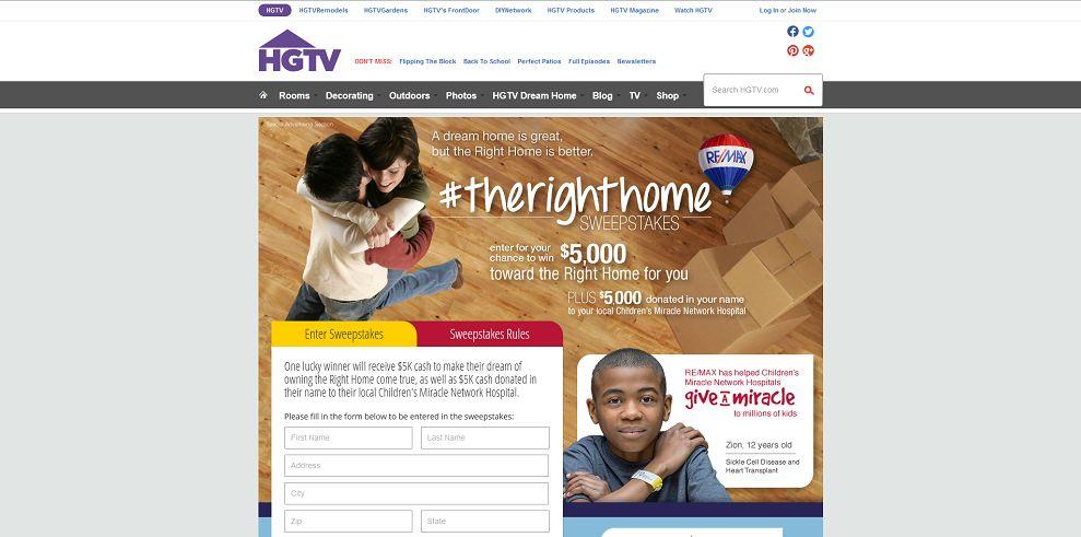 Home » Hgtv Com Hgtv Dream Home Sweepstakes 2014 Entry Form.html