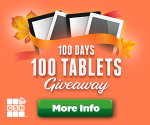 GSN 100 Days 100 Tablets Giveaway