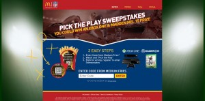 McDonald's Pick The Play Sweepstakes