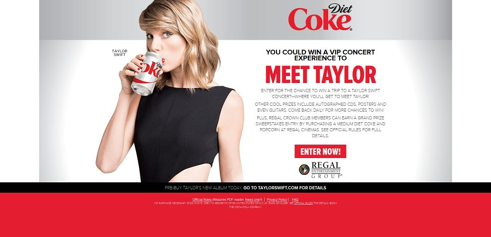 contest to meet taylor swift 2014