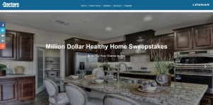 The Doctors' Million Dollar Healthy Home Sweepstakes (Code Word)