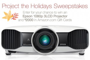 Project The Holidays Sweepstakes
