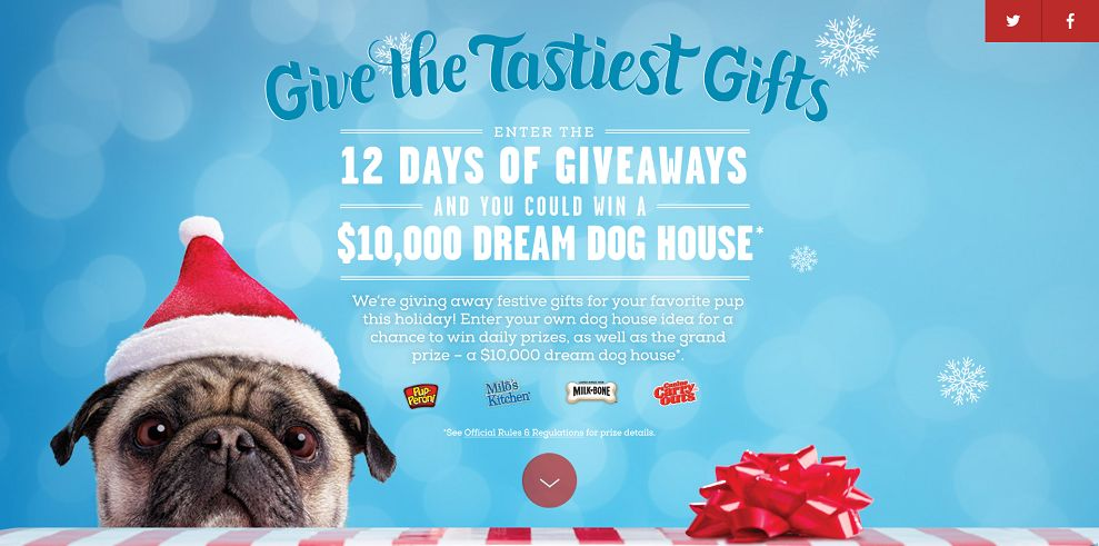 Days Of Giveaways : Win A $10,000 Dream Dog House - Sweepstakes Lovers