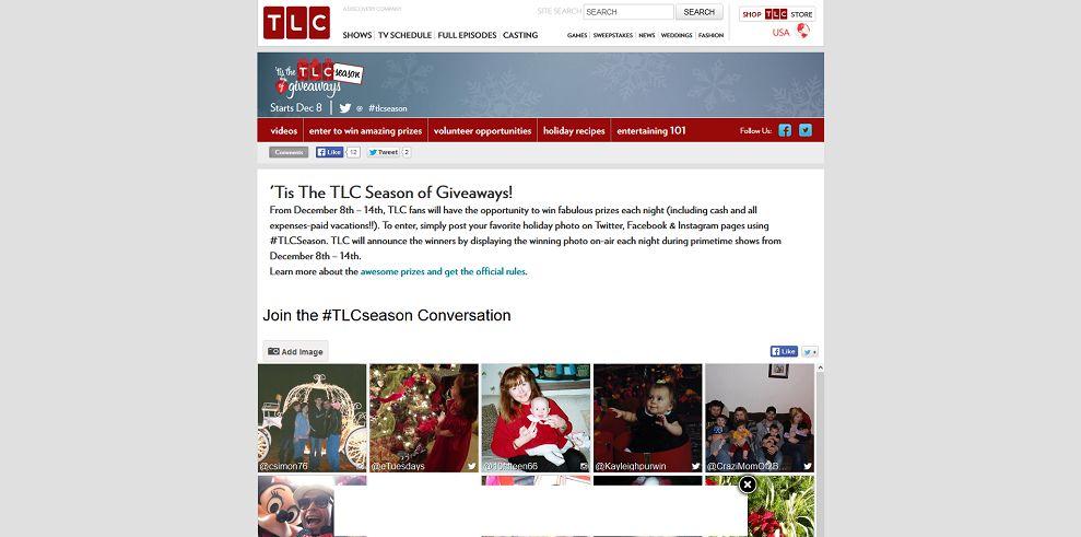'Tis the TLC Season of Giveaways